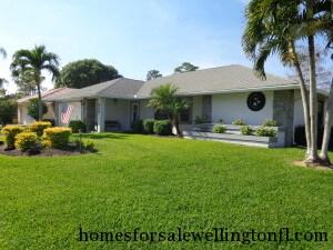Sugar Pond Manor Homes for Sale Wellington FL