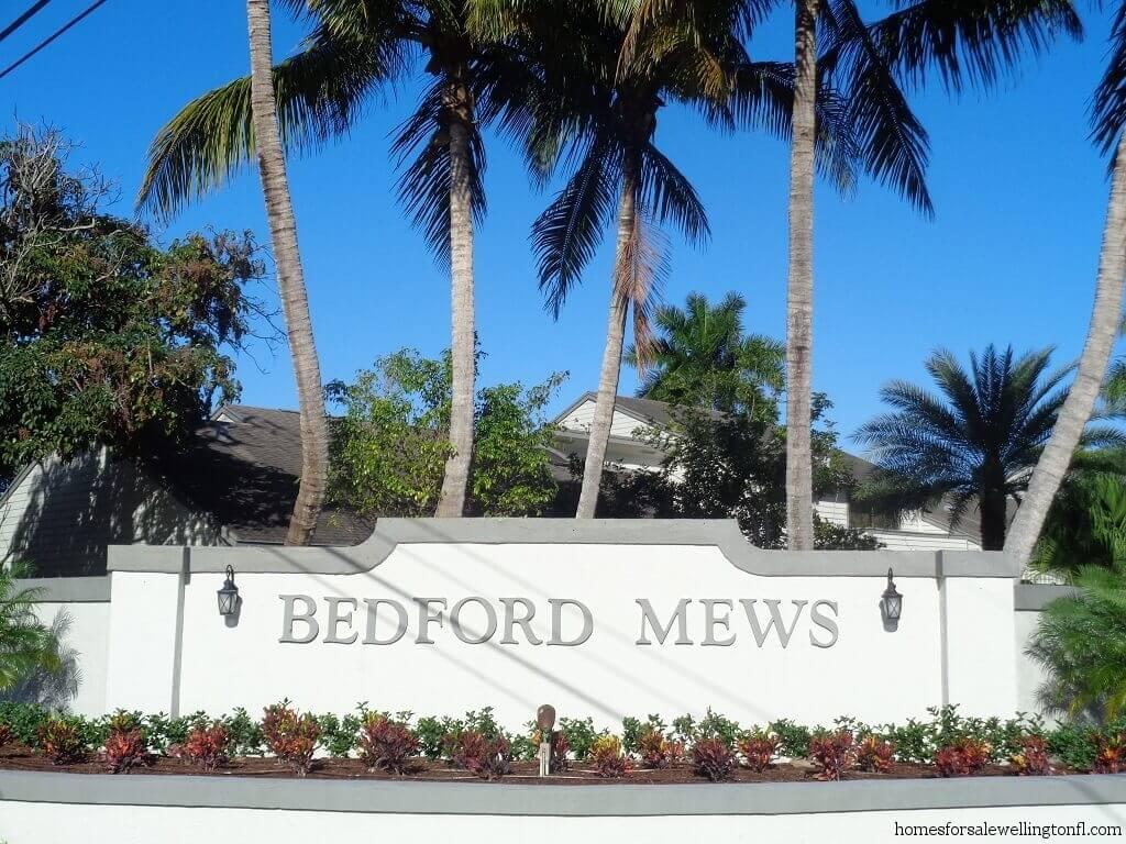 Bedford Mews Homes for Sale in Wellington FL