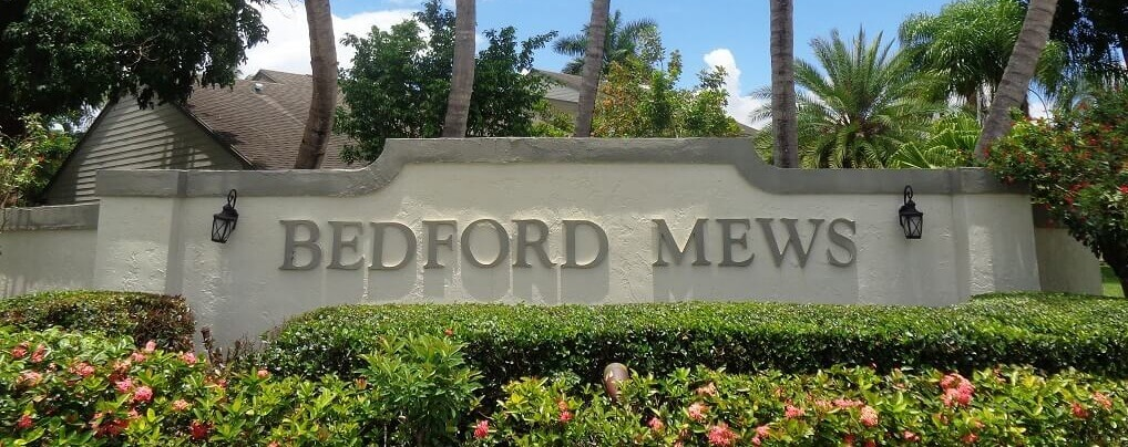 Bedford Mews Homes For Sale in Wellington FL