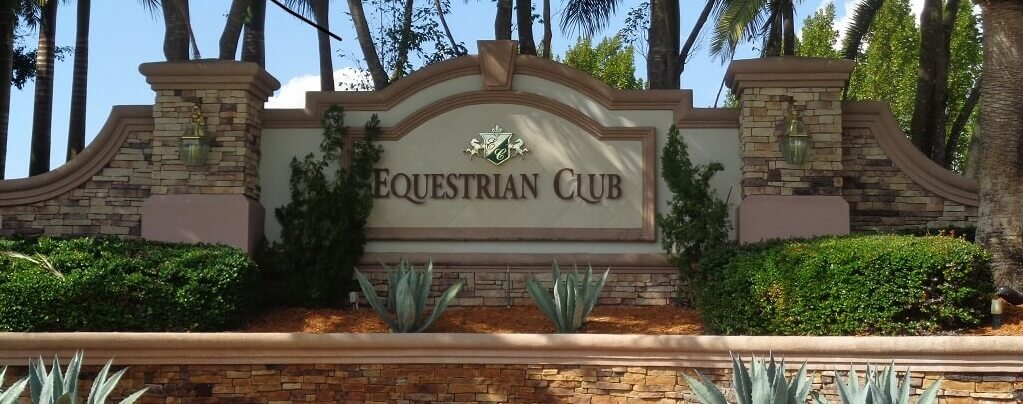 Equestrian Club Homes for Sale in Wellington Florida