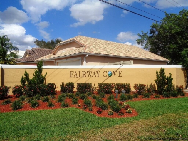 Fairway Cove Homes for Sale in Wellington FL