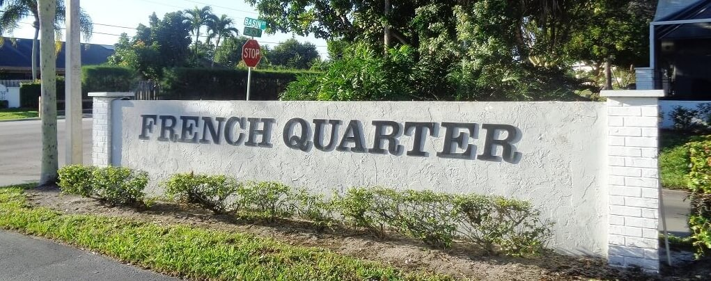 French Quarter Homes For Sale in Wellington Florida