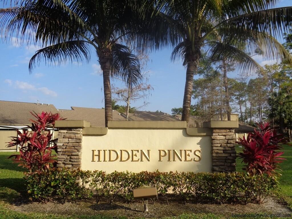 Hidden Pines Homes for Sale in Wellington FL