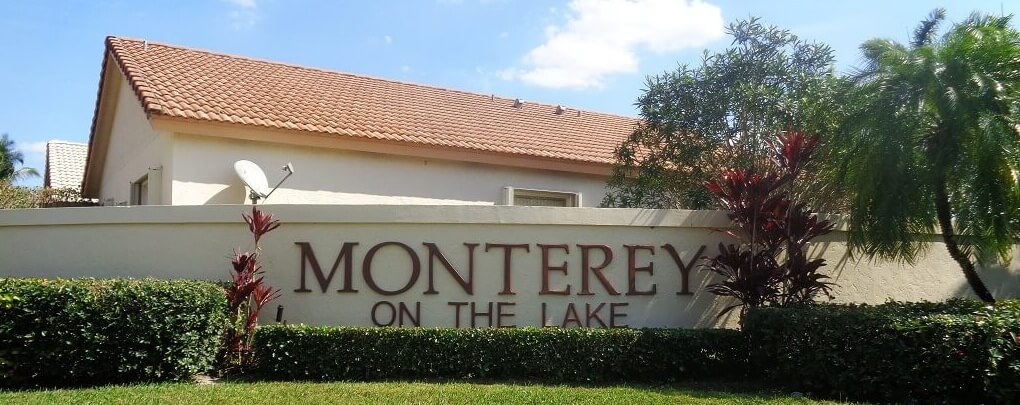 Monterey on the Lake Homes For Sale in Wellington Florida