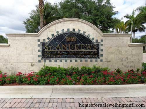 Wellington Florida Condo Sales