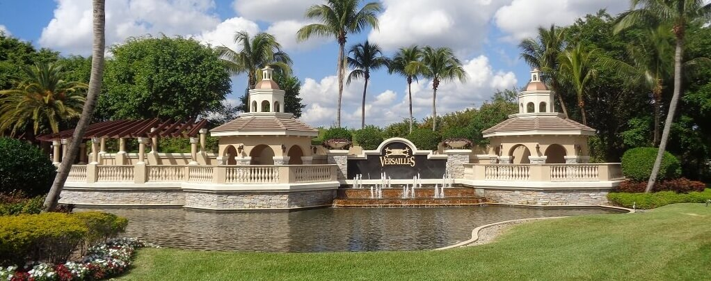 Versailles Homes For Sale in Wellington Florida