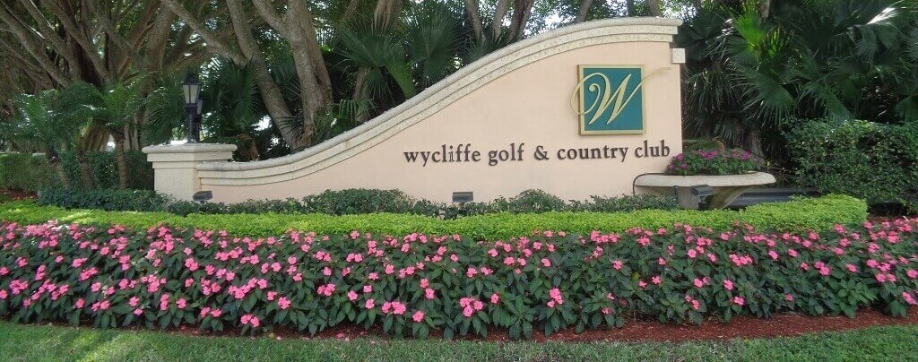 Wycliffe Country Club Homes for Sale in Wellington Florida