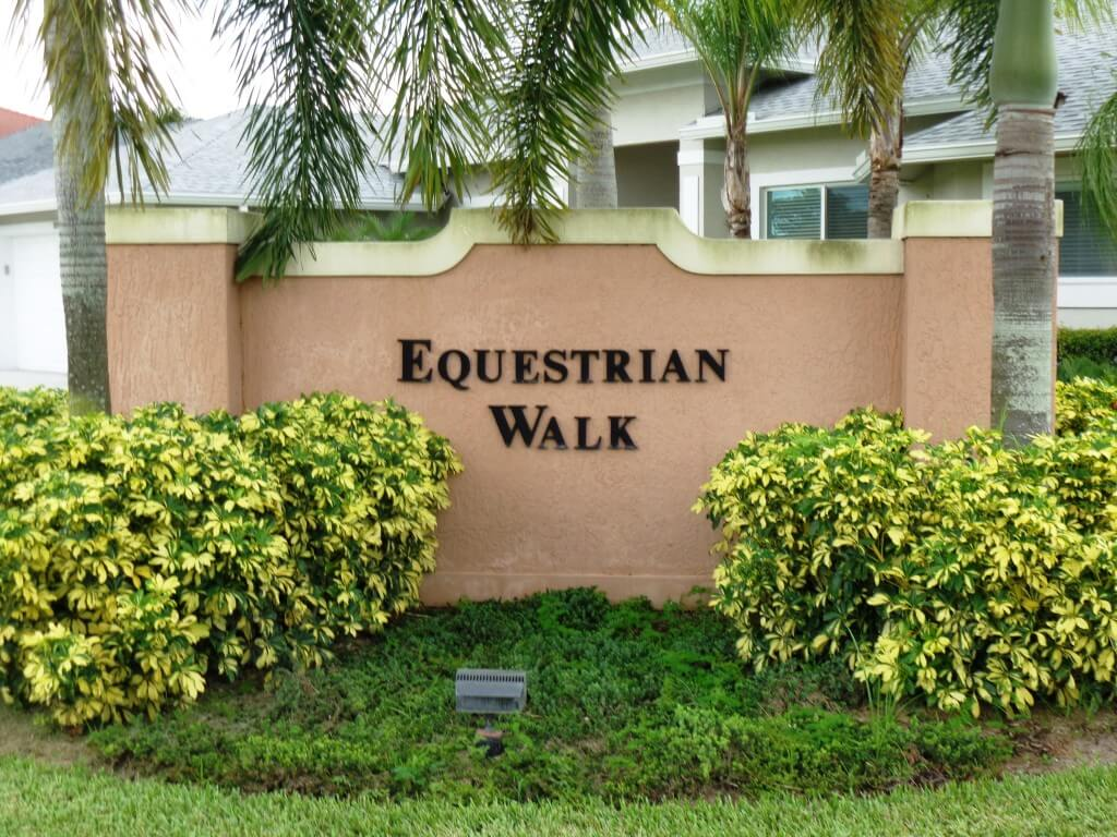 Equestrian Walk Wellington Florida