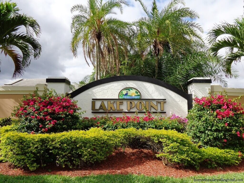 Lake Point Homes for Sale in Wellington FL