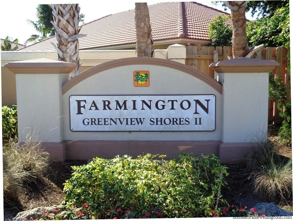 Greenview Shores Recently Sold Homes in Wellington FL - Farmington