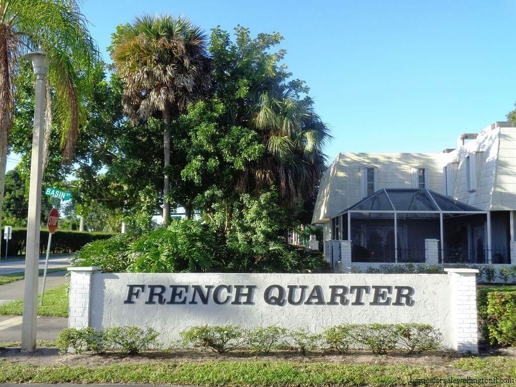 French Quarter Wellington Florida Townhomes