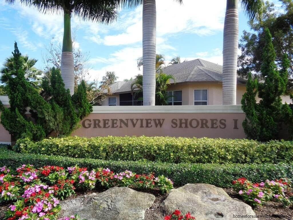 Greenview Shores Homes for Sale in Wellington FL