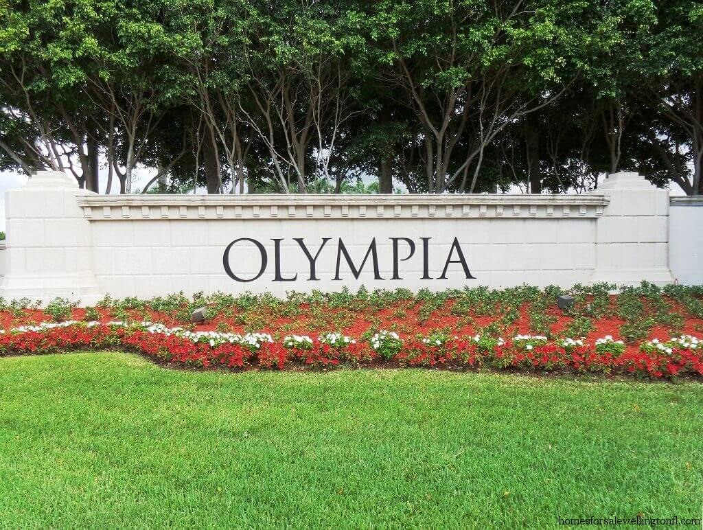 Olympia Homes for Sale in Wellington Florida