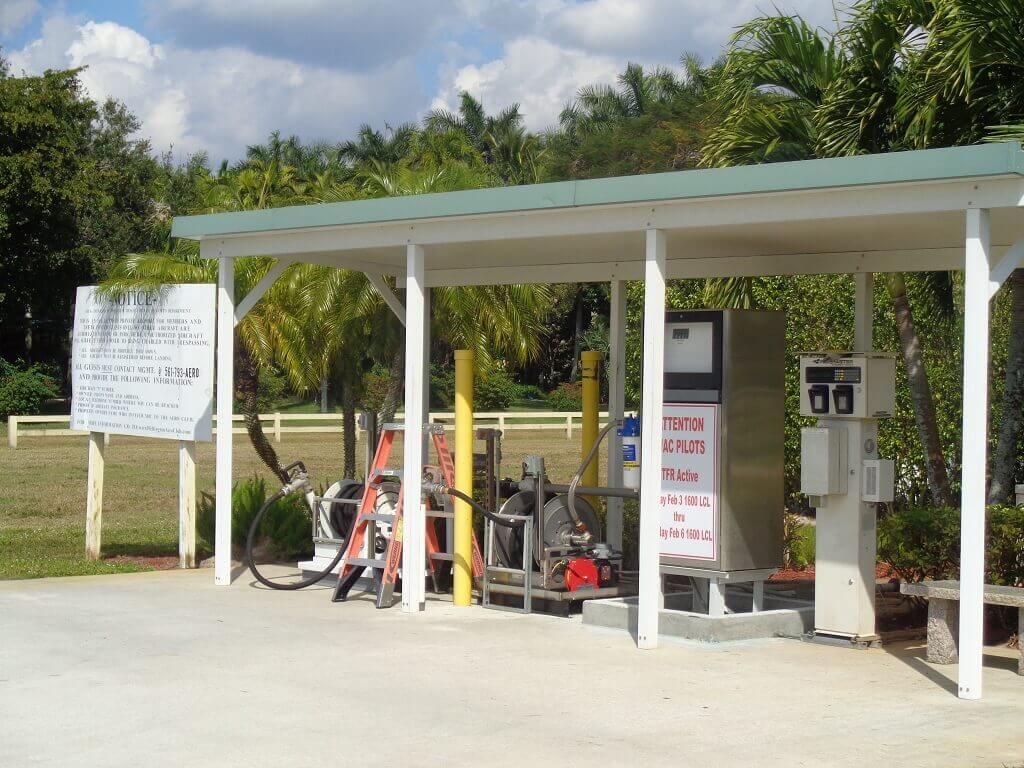 Aero Club Houses - Fuel Pumps