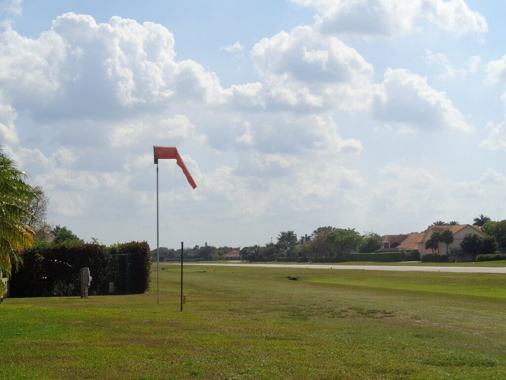 Aero Club Rentals in Wellington FL - Wind Sock