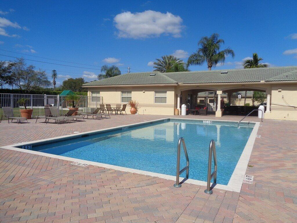 Arissa Place Homes for Sale in Wellington FL - Pool & Cabana