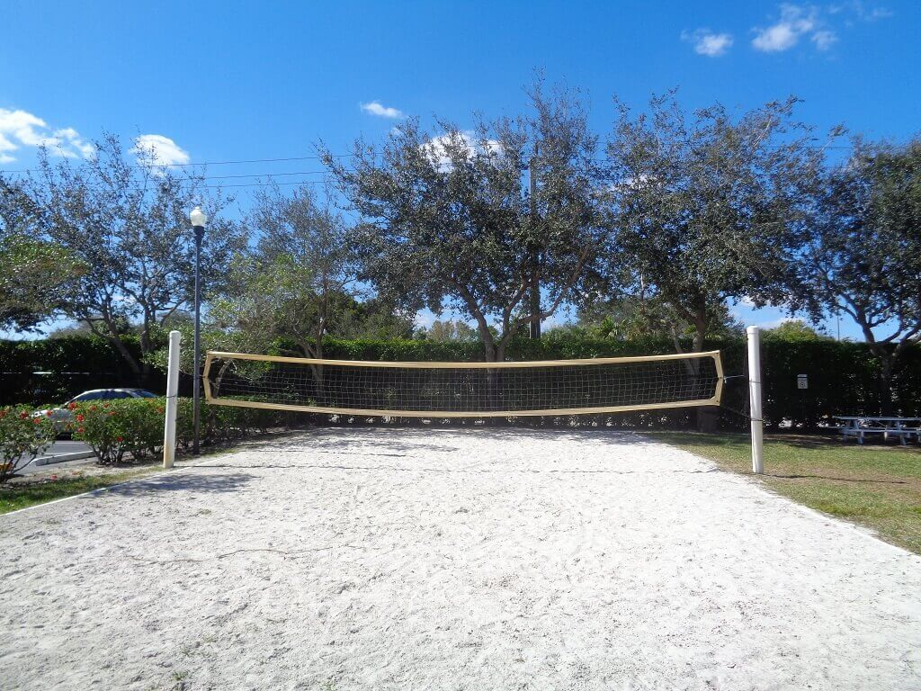 Arissa Place Volleyball Court - Wellington Real Estate Agent