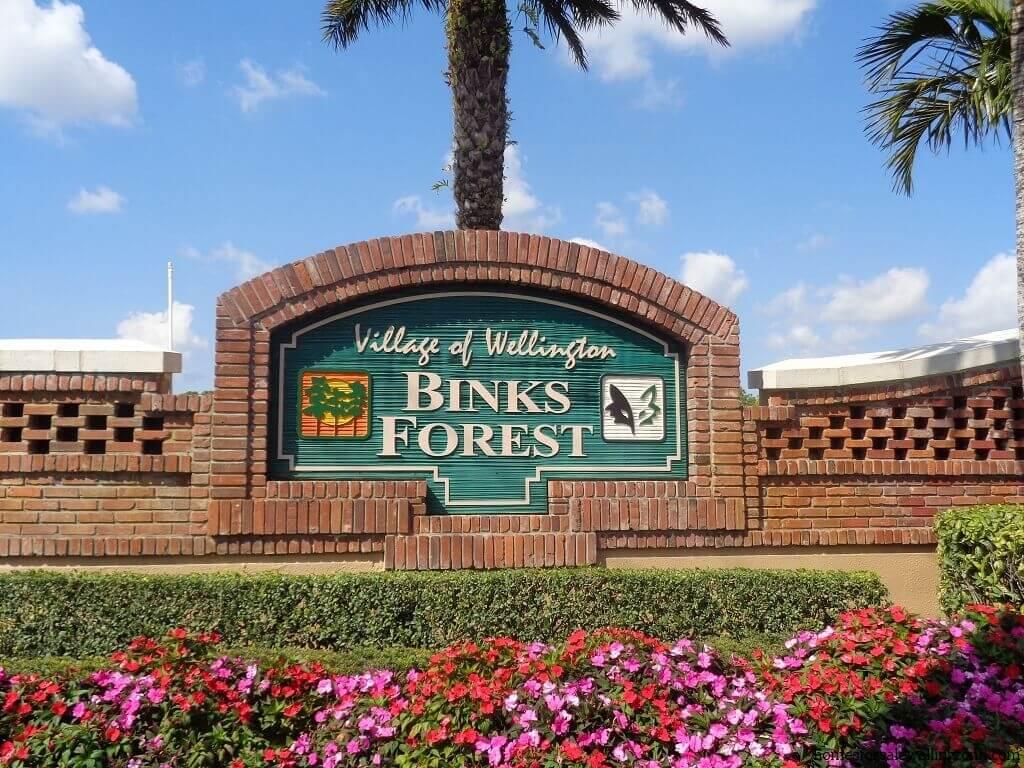 Binks Forest Wellington Florida