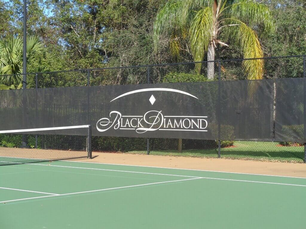 Black Diamond Homes for Sale in Wellington FL - Tennis Courts