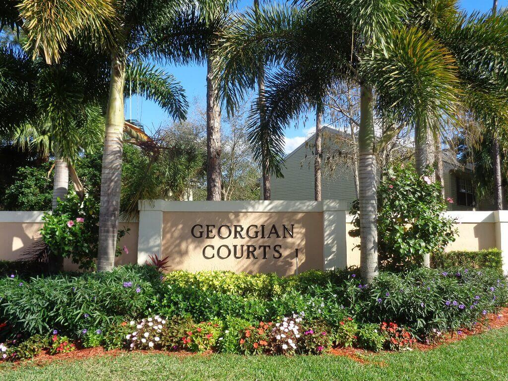 Georgian Courts Homes for Sale in Wellington FL