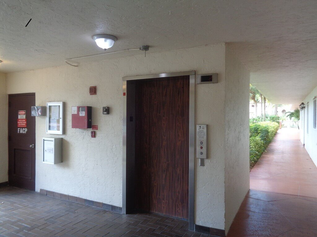 The Shores in Wellington Florida -  Elevator