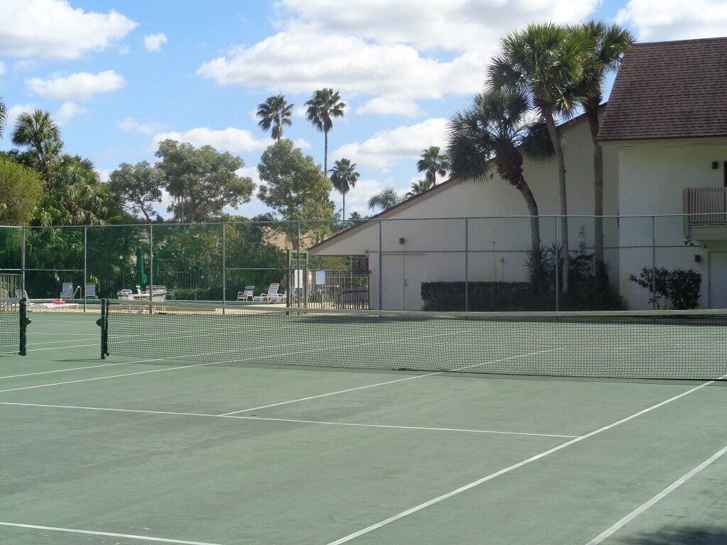 The Shores Condos in Wellington FL - Tennis Courts