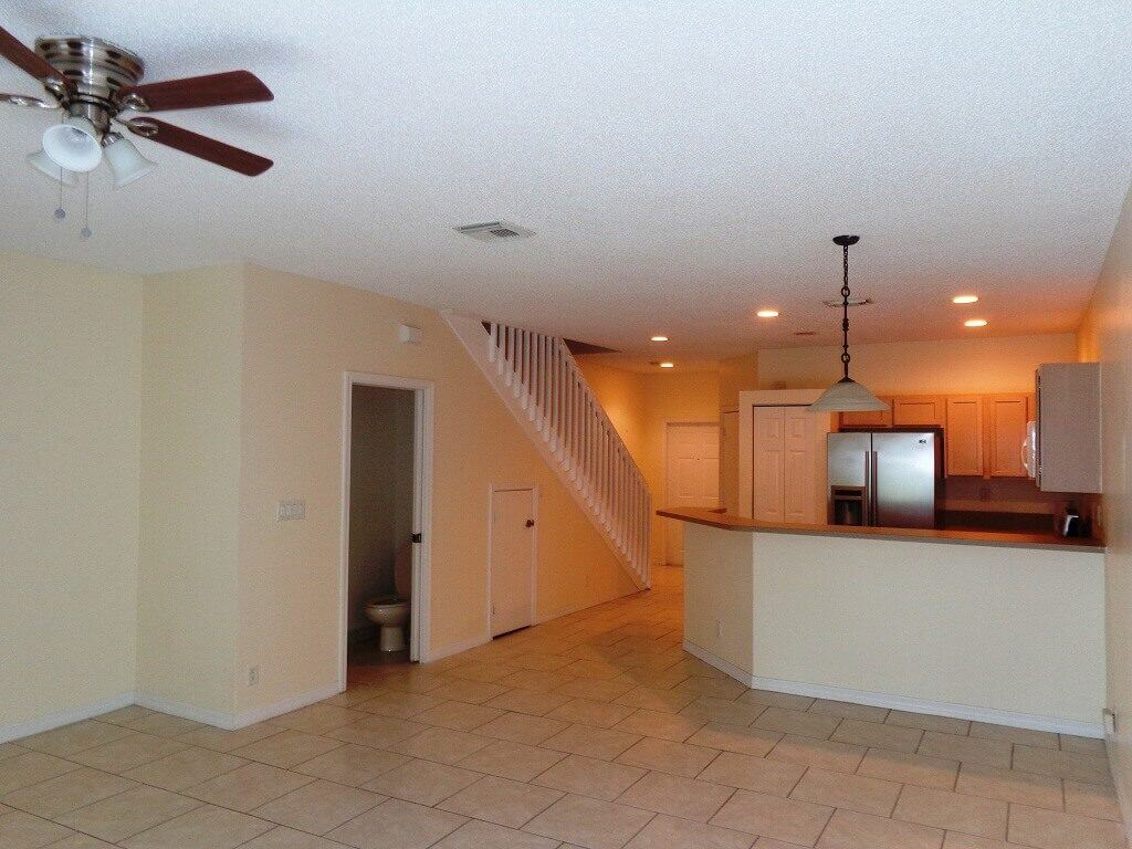 Towne Place Houses- Kitchen & Living Area