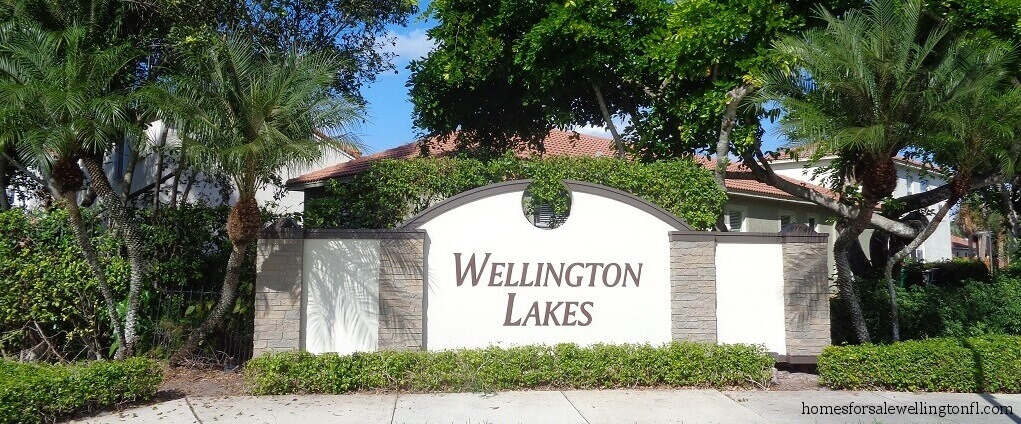 Wellington Lakes Homes For Sale in Wellington Florida